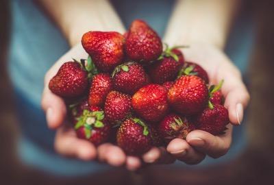 Süße Erdbeerliebe